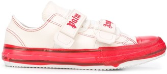 Palm Angels Touch Strap Canvas Sneakers