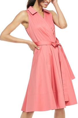 Gal Meets Glam Women's Casual Dresses ROSEMIST - Rose Mist Tie-Waist Heather Sleeveless A-Line Dress - Women & Juniors