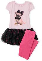 Flapdoodles Toddler Girls) Two-Piece Dress & Leggings Set