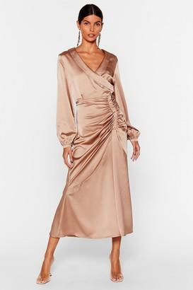 Nasty Gal Womens Steal the Spotlight Dress - Brown - 12