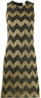 M Missoni Zigzag Sleeveless Shift Dress