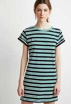 Forever 21 Striped T-Shirt Dress