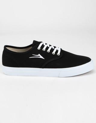 Lakai Oxford Mens Black Shoes