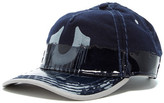 True Religion Two-Tone Coated Wool Blend Baseball Cap