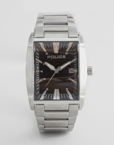 Police Avenue Stainless Watch