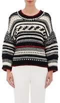 Spencer Vladimir Women's Mixed-Stitch Crop Sweater