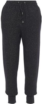 Markus Lupfer Metallic Wool-blend Track Pants