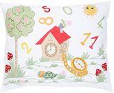 Loretta Caponi Hand Embroidered Cotton Pillow