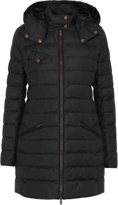 Belstaff Melcombe Quilted Cotton-blend Shell Hooded Down Coat