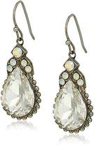Sorrelli White Bridal Decorative Deco Drop Earrings