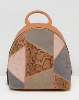 Asos Patchwork Backpack