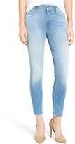 Mother The Looker High Rise Ankle Fray Skinny Jean