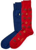 Polo Ralph Lauren Equestrian Trouser Sock 2-Pack
