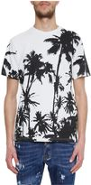 Golden Goose Deluxe Brand Palm Print T-shirt