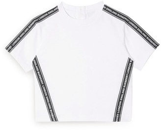 Burberry Kids Logo Tape T-Shirt (6-24 Months)
