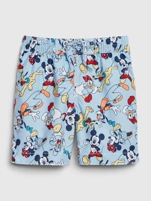 Disney babyGap | Mickey Mouse And Friends Swim Trunks