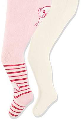 Playshoes Baby warme Thermo-Strumpfhosen Eisbär Tights,50/56 (pack of 2)