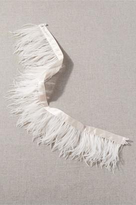 Madeleine Fig Stuyvesant Feather Belt