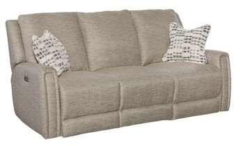"""Thumbnail for your product : Southern Motion Wonderwall 79"""" Round Arm Reclining Sofa"""