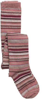Melton Glittery Stripe Tights
