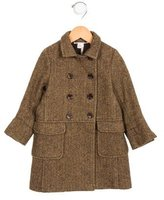 Bonpoint Girls' Herringbone Double-Breasted Coat