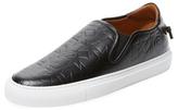 Givenchy Embossed Stars Slip-On Sneaker