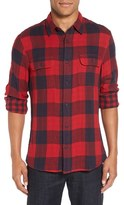 Nordstrom Men's Trim Fit Buffalo Plaid Flannel Shirt Jacket