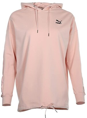 Puma Tailored For Sport Fashion Hoodies (Pink Sand) Women's Clothing