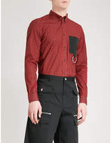 Givenchy Checked regular-fit cotton shirt
