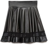 Forever 21 Edgy Girl Faux Leather Skirt