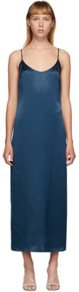 La Perla Navy Silk Slip Dress