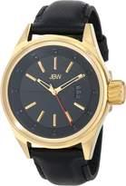 JBW Men's J6287D Rook Analog Display Japanese Quartz Black Watch