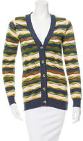 M Missoni Patterned Long Sleeve Cardigan