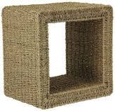 Household Essentials Seagrass & Rattan End Table