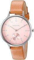 Skagen Women's SKW2406 Anita Light Brown Leather Watch