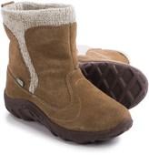 Merrell Jungle Moc Boots - Waterproof, Suede (For Little Girls)