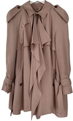 Burberry Pink Silk Coats
