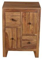 Home Meridian Sheesham Wood Drawer Chest
