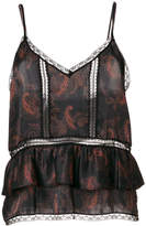 IRO patterned camisole top
