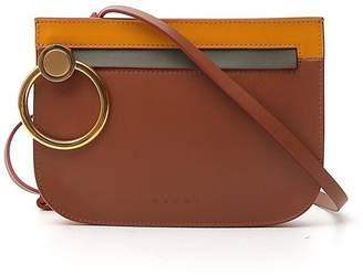 Marni Ring Zipper Crossbody Bag