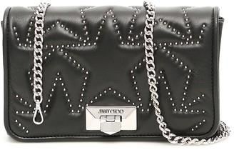 Jimmy Choo Helia Studded Clutch Bag