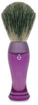 eShave Finest Badger Hair Shaving Brush Long Handle - Purple