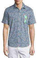 Robert Graham Sunglass Valley Printed Short-Sleeve Sport Shirt, Multi