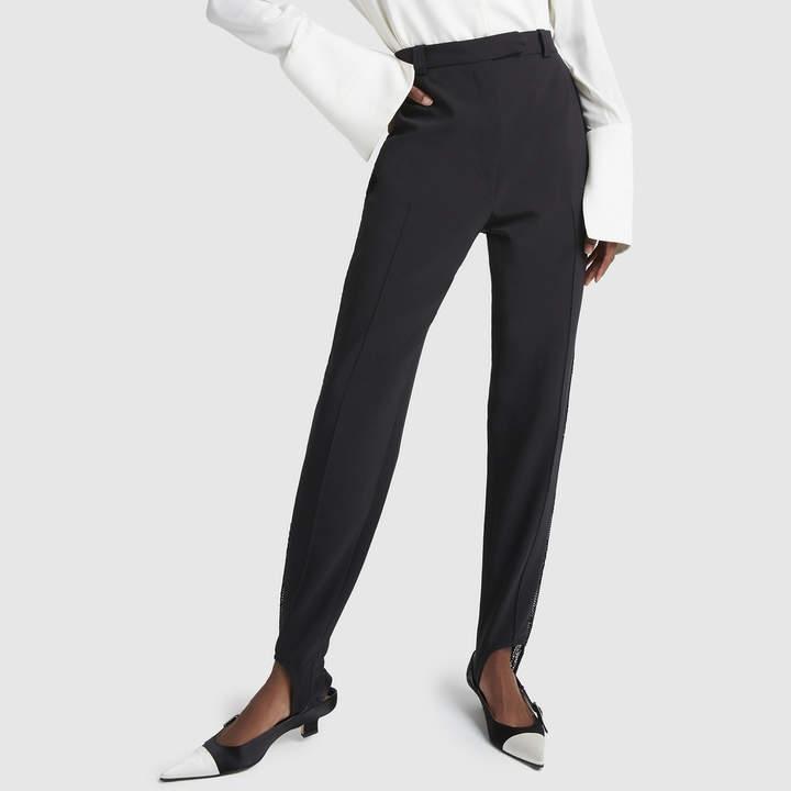 fce8136f52ccf9 Black Wool Stirrup Pants - ShopStyle