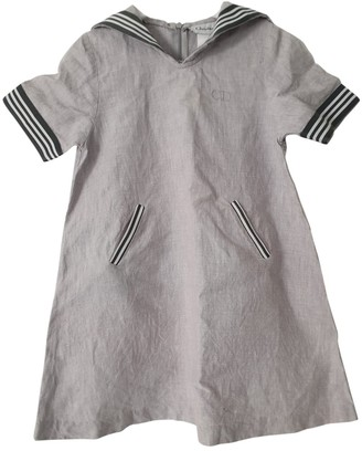 Christian Dior Grey Linen Dresses