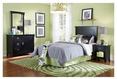 Powell Company Kids Bed Wood/Black