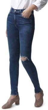 Citizens of Humanity Rocket Ripped Mid-Rise Skinny Jeans