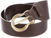 Burberry Textured Leather Belt