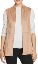 B Collection by Bobeau Junya Seamed Faux Suede Vest
