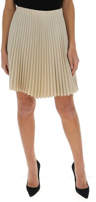 Theory Pleated Mini Skirt